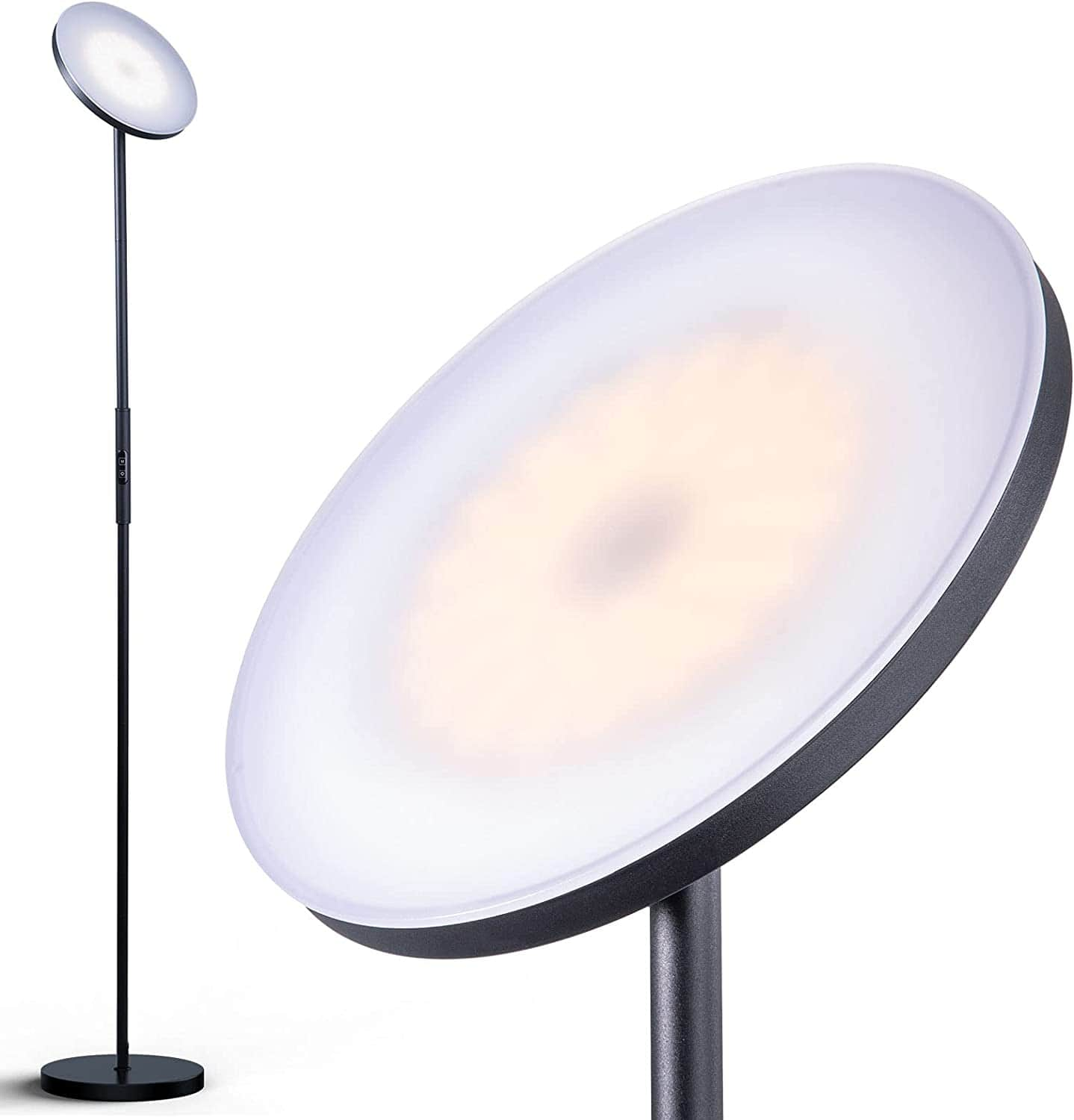 Addlon LED Torchiere Floor Lamp (Dimmable) for $24.99 + Free Shipping