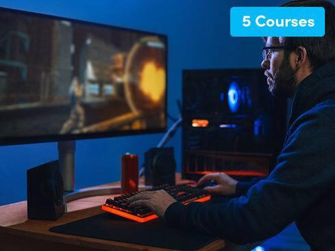 Build a Bundle: Learn Unity Game Development (5 Courses) $1