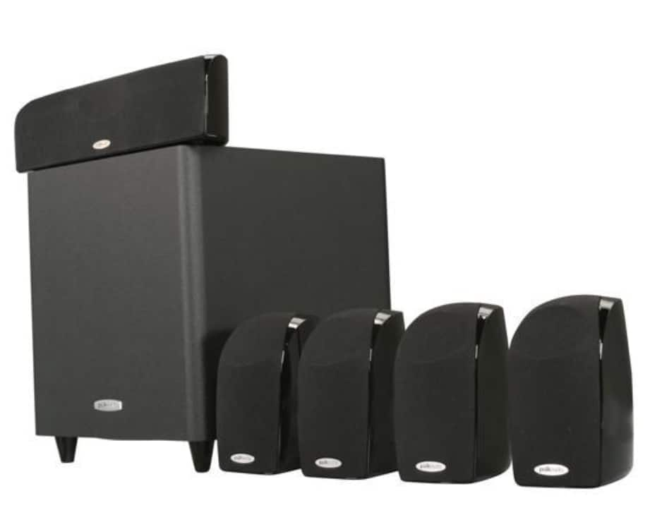 Polk Audio TL1600 5.1 Compact Surround Sound Home Theater System with Powered Subwoofer for $169.99 + Free Shipping