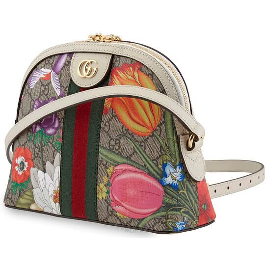 GUCCI Ladies Ophidia GG Flora Shoulder Bag for $798.98 + Free Shipping