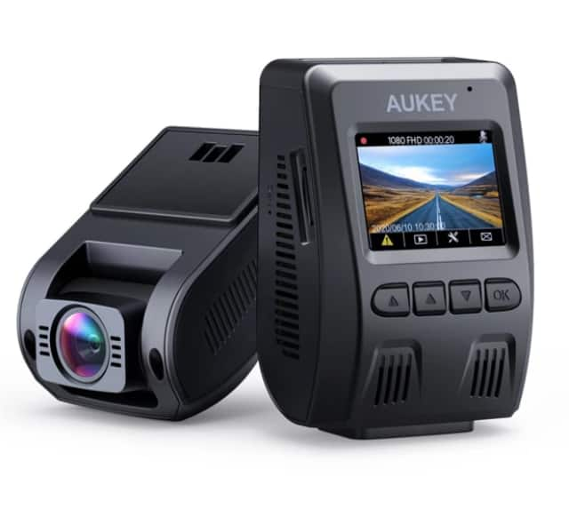 AUKEY DR02 1080P Dash Cam for $42.99 + Free Shipping