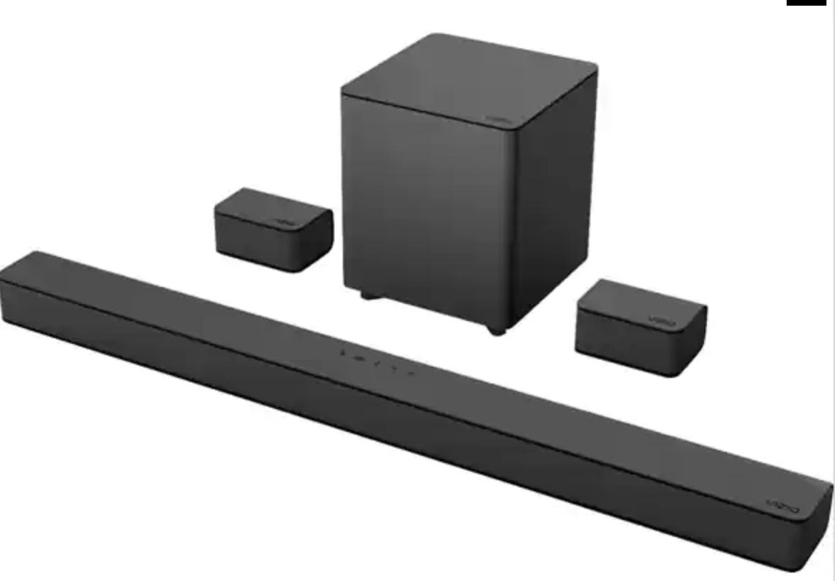 "VIZIO V51-H6 36"" Soundbar 5.1 Channel Home Theater System (Factory Reconditioned) - $129.99"