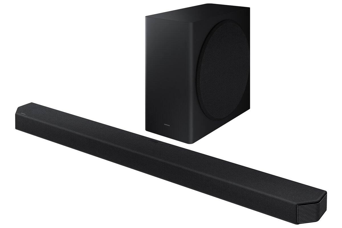 Samsung - HW-Q900A 7.1.2ch Soundbar with Dolby Atmos - Black for $750 + Free Shipping