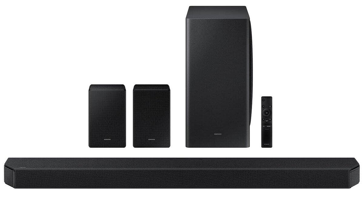 Samsung HW-Q950A 11.1.4 Channel Dolby Atmos Soundbar with Subwoofer (2021) for $1179 + Free Shipping