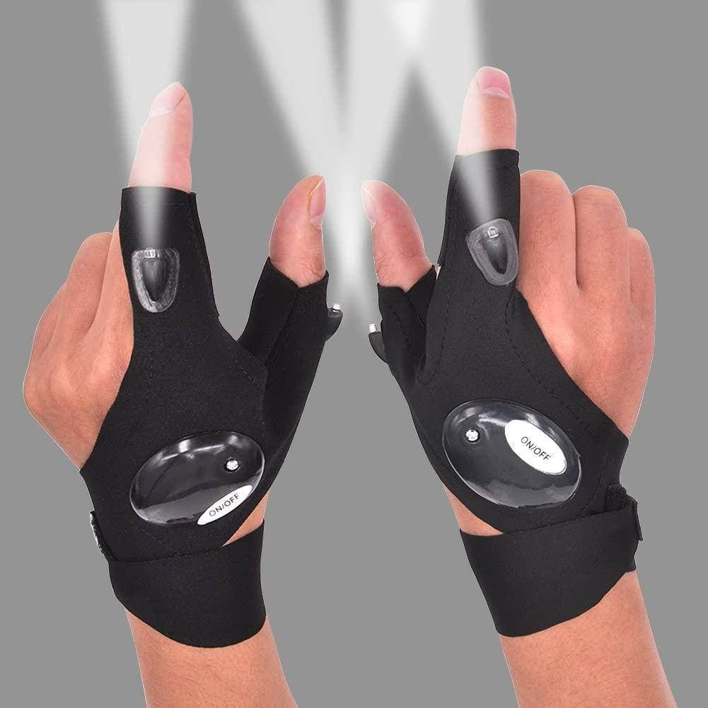 Gloves with LED Flashlight for $6.99 + Free Shipping