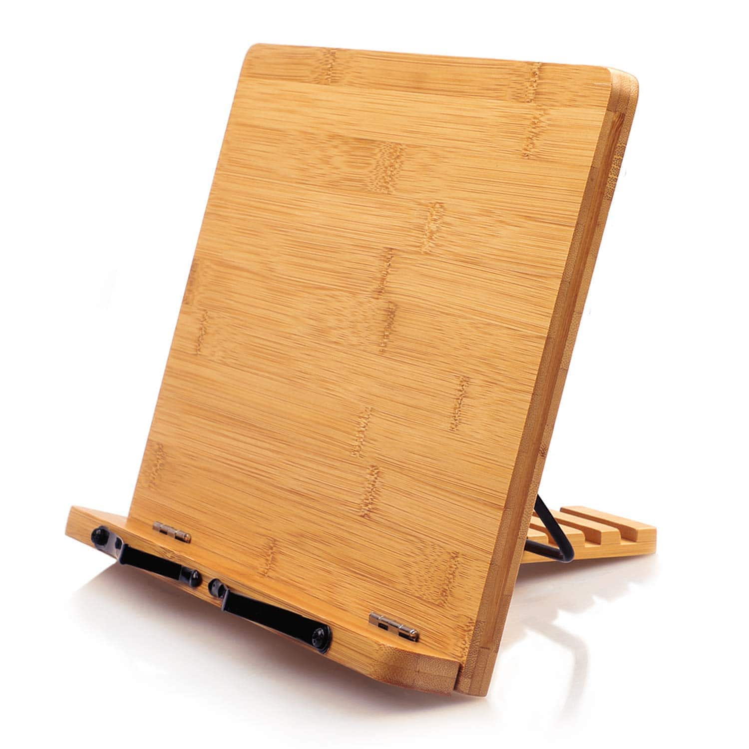 PIPISHELL Bamboo Cookbook Holder with 5 Adjustable Height for $7.98 + FSSS