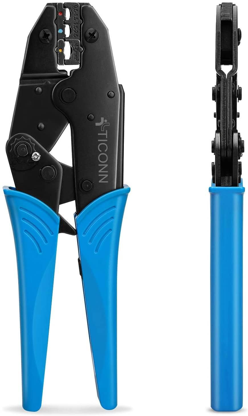 TICONN Crimping Tool for Heat Shrink Connectors (2 colors) $12.97 + Free Shipping w/ Prime or Orders $25+