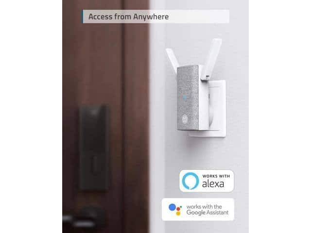 Eufy Security Smart Lock with Wi-Fi Bridge (Keyless Entry Door Lock with Wi-Fi, App Control, Bluetooth Electronic Deadbolt) for $140 + Free Shipping