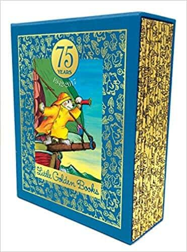 75 Years of Little Golden Books: 1942-2017: A Commemorative Set of 12 Best-Loved Books (Hardcover) for $24.98