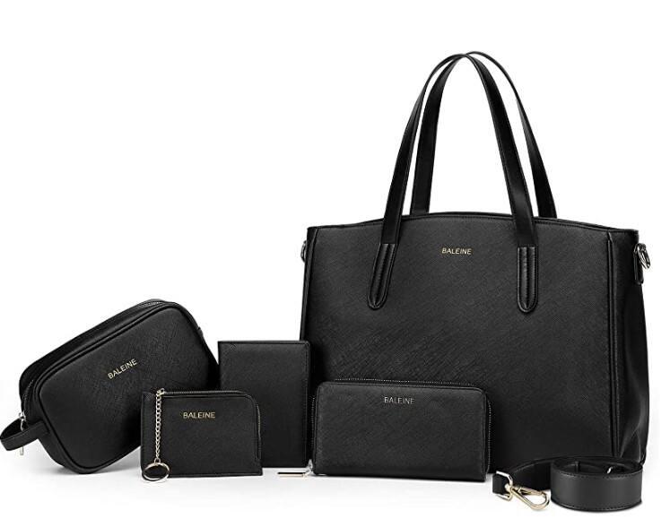 BALEINE 5 Pcs Handbag Set (5 colors) $17.48 - $18.98 + Free Shipping w/ Prime or Orders $25+