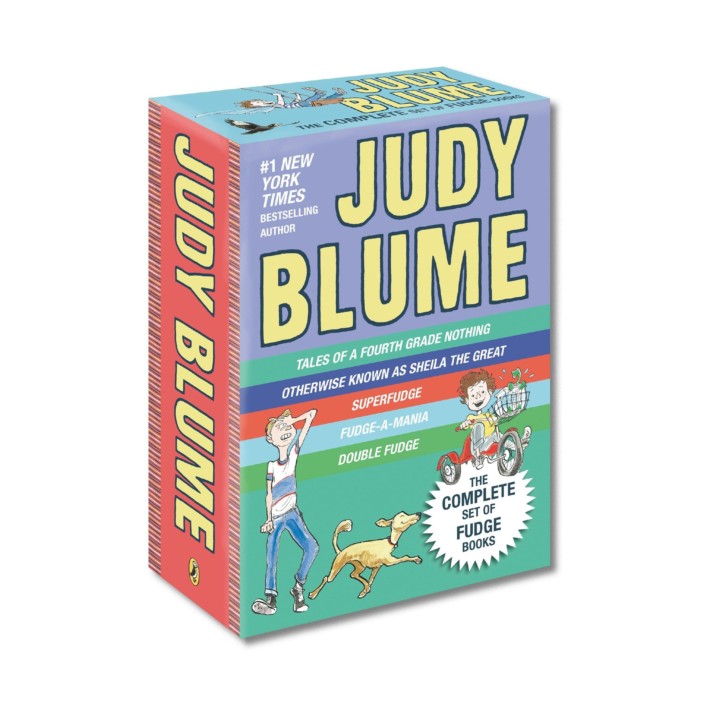 Judy Blume's Fudge Box Set (5 Paperback books for $3.77 / book) for $18.85