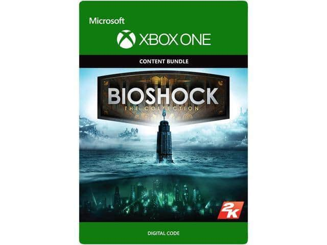 BioShock: The Collection Xbox One for $10.79, PGA Tour 2K21 Deluxe for $20.79, and more