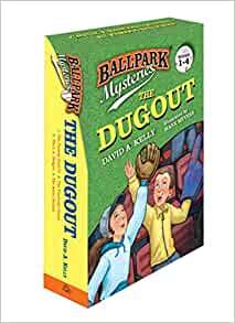 Ballpark Mysteries: The Dugout boxed set (books 1-4 Paperback) (4 books for $2.42 per book) for $9.69 + FSSS