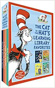 The Cat in the Hat's Learning Library Favorites: There's No Place Like Space!; Oh Say Can You Say Dinosaur?; Inside Your Outside!; Hark! A Shark! ($4.98 per book) for $19.91 + FSSS