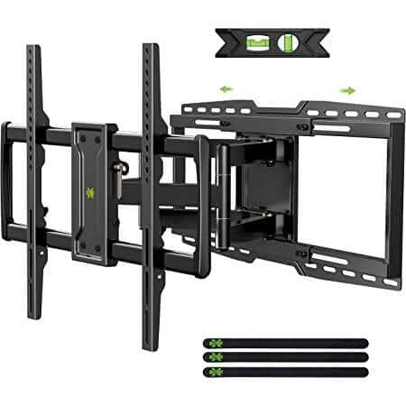 """USX MOUNT Full Motion TV Wall Mount Bracket with Sliding Design (for 32-90"""" TVs Up to 150lbs Max VESA 600x400mm) for $44.99 + Free Shipping"""