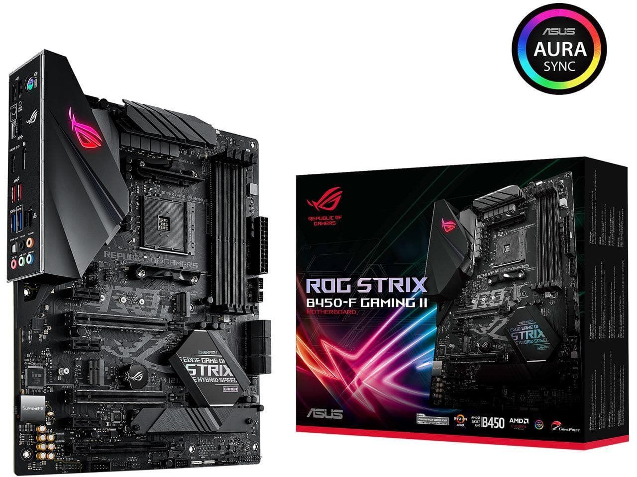 (24 hours only - Starts 7/23) ASUS ROG Strix B450-F Gaming II Motherboard for $109.99 w/ FS