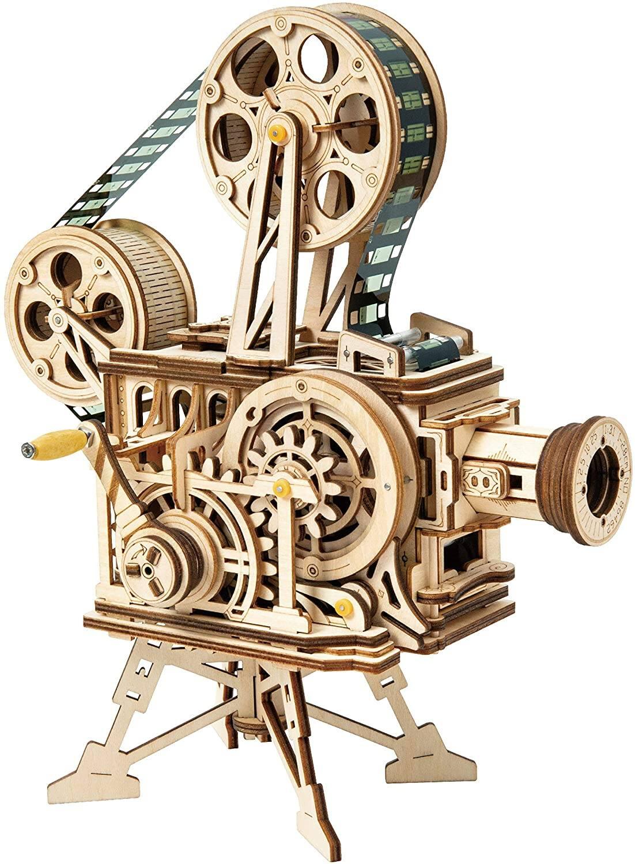ROBOTIME 3D Wooden Puzzle (DIY Vitascope Model Kits) for 23.99 + FS
