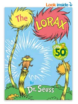 Dr. Seuss: The Lorax (Classic Seuss) Hardcover for $6.9 and More