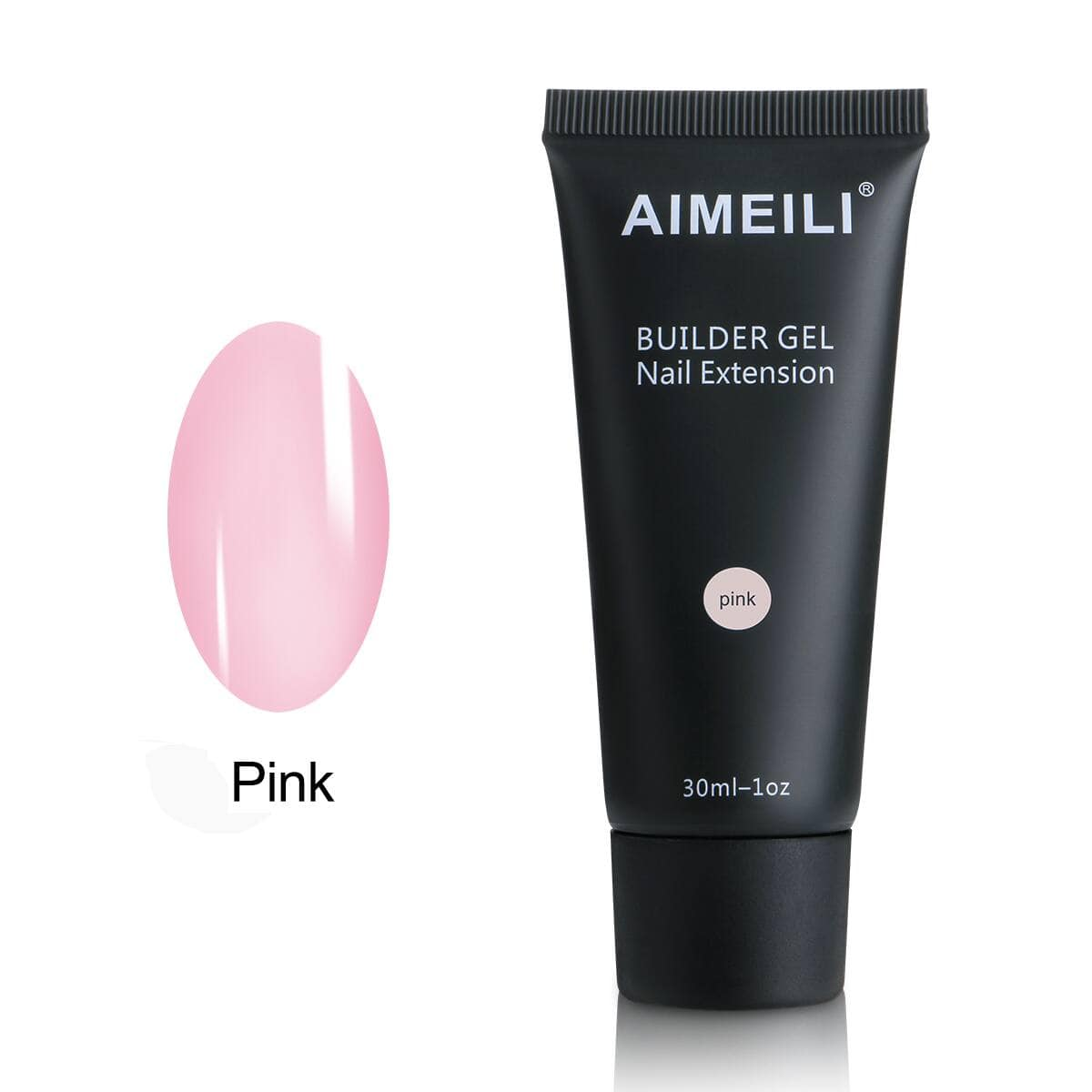 AIMEILI Pink Builder Gel 30ml 1oz for - $6 + Free Shipping w/ Amazon Prime or Orders $25+
