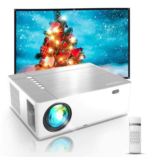 Bomaker 300 ANSI Lumen Native 1080P Video Projector for $139.99 + Free Shipping