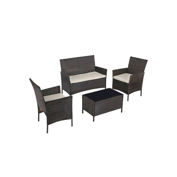 Songmics 4-Piece Patio Furniture Set $150 and More + Free Shipping