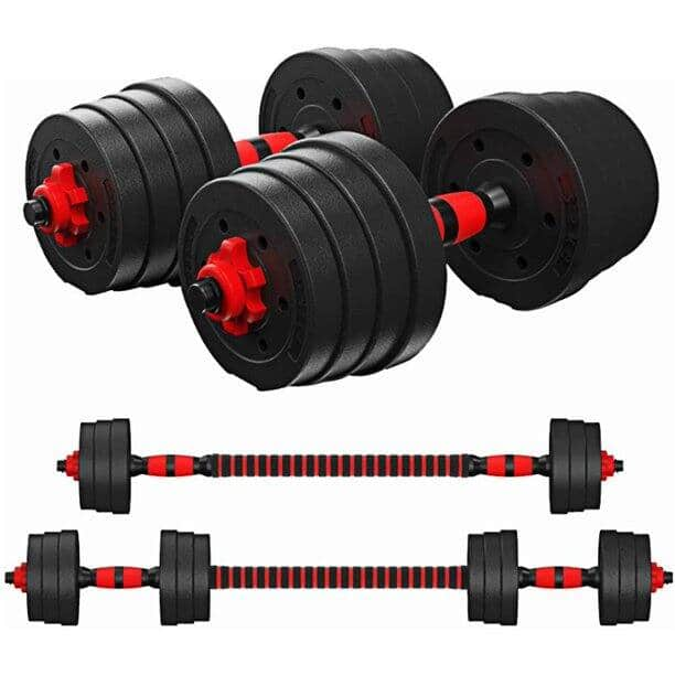 Skonyon 66LB Adjustable Dumbbell Weight Sets for $105.98 + Free Shipping