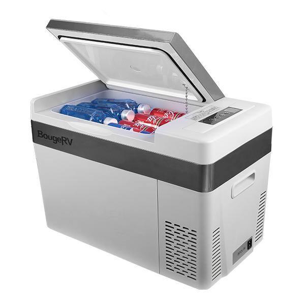 BougeRV 30Quart Portable Car Refrigerator Freezer $222.99 + FS