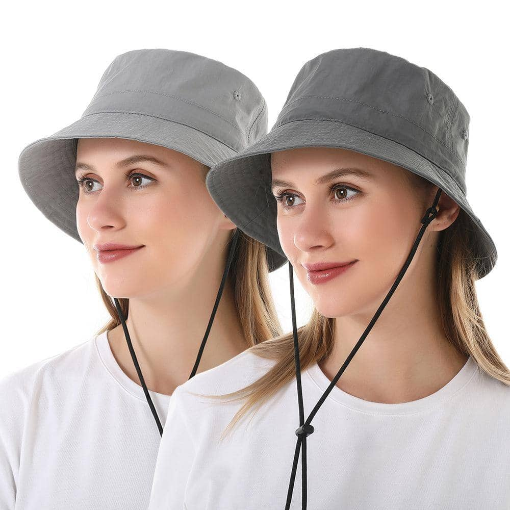 Bucket Hat with Detachable Drawstrings Various Colors $6.99 + Free Shipping