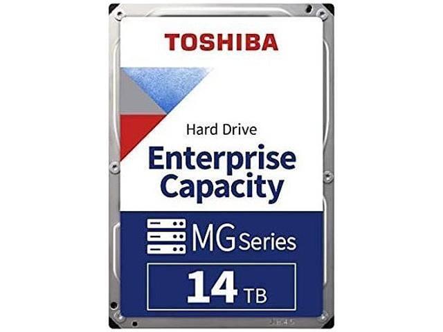 "Toshiba 14TB Enterprise HDD SATA 6.0Gb/s 512e 7200 RPM 512MB Cache 3.5"" Internal Hard Drive for $279.99 w/ FS after Code"