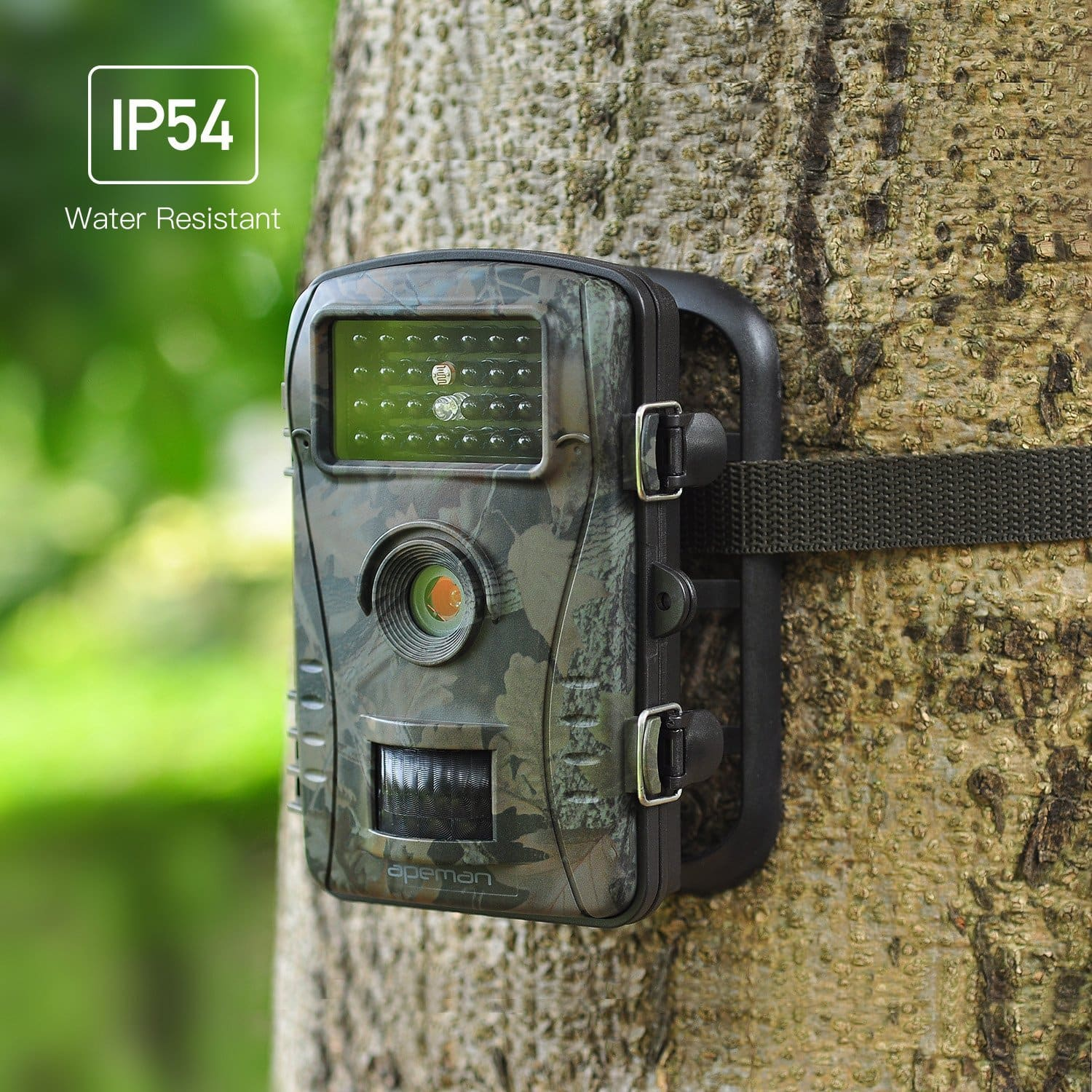 "APEMAN Trail Camera 12MP 1080P 2.4"" LCD with 940nm Upgrading IR LEDs Night Vision up to 65ft/20m IP66 waterproof- $29.93+free shipping"