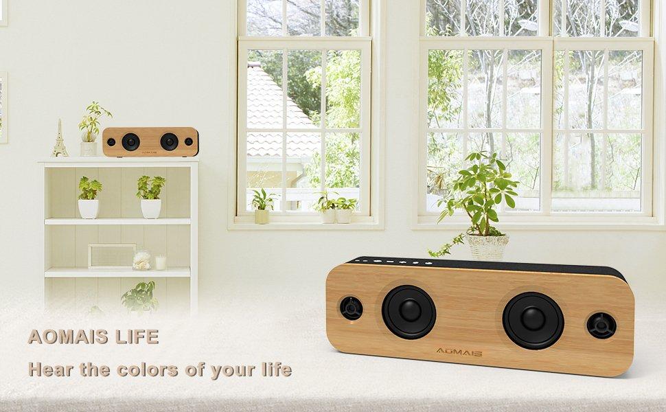 AOMAIS LIFE Bluetooth Speaker - $59.99 + Free Shipping