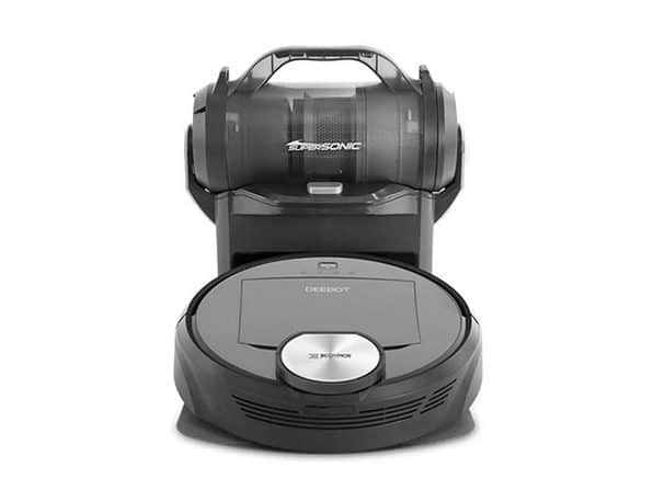 ECOVACS Deebot Robot Vacuum Cleaner & Canister Vacuum Station- $466.65 + Shipping = $469.64