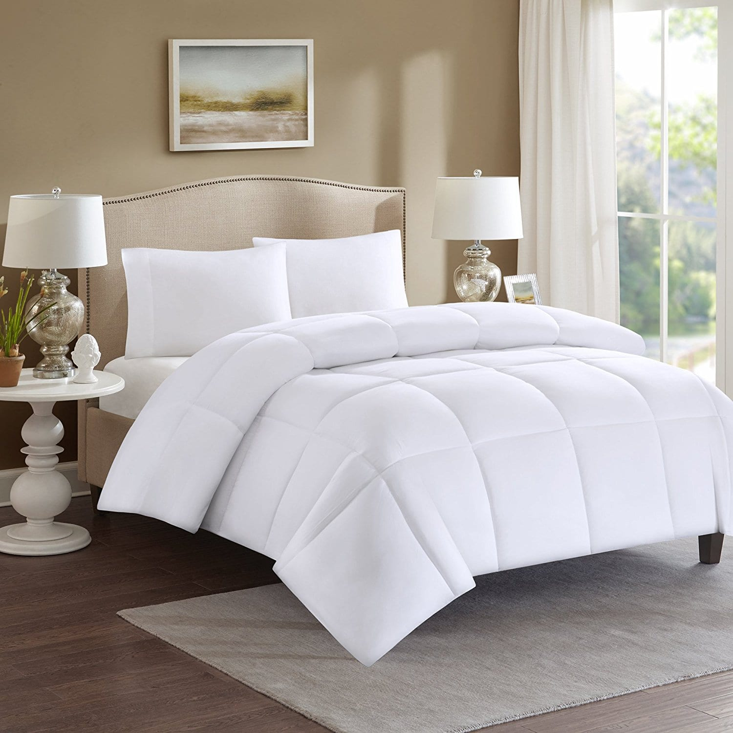 Comfort Spaces - Plush Microfiber Down Alternative Comforter and Sheet Sets From $13.19