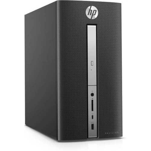 HP Pavilion 570-p054 Desktop PC Core i3-7100 3.90GHz 4GB RAM 1TB HDD WIN10 Refurbished - $207.99 + Free Shipping