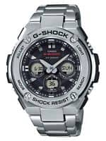 Casio G-Steel Men's GSTS310D-1A Tough Solar Ana-Digi Silver-Tone Watch - $156.99 + Freeshipping