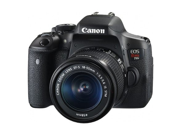 Canon Rebel T6i Digital SLR Camera w/18-55mm Lens $519.99 + FS w/ Prime