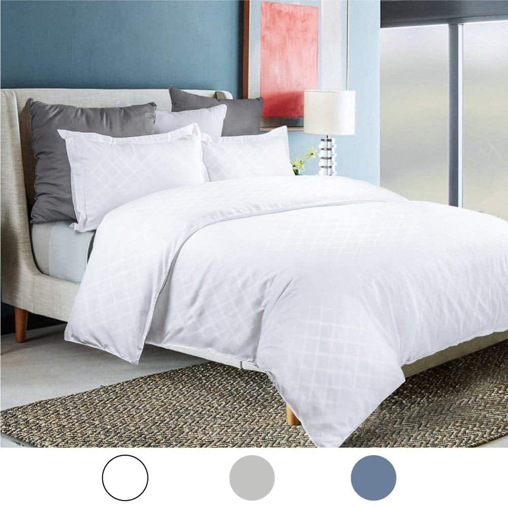 50% off Solid Duvet Cover Set Twin $9.99 Full/Queen $13.49 King $14.99 AC+FS (5 Colors)