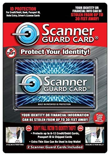 Fladora Scanner Guard Cards: Credit Cards Identity Theft Protection - 2 Pack - $6.99 + FS