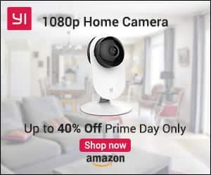 YI 1080p Home Camera, Indoor IP Security Surveillance System - $109.72 Prime Day