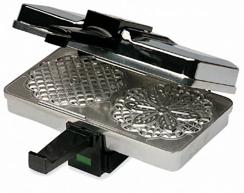 Cucina Pro Pizzelle Maker Black and Silver - $29.95 + Free Shipping