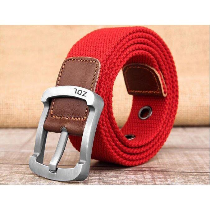 Canvas Belt For Men - 7 Colors Available - $8.99 + FS