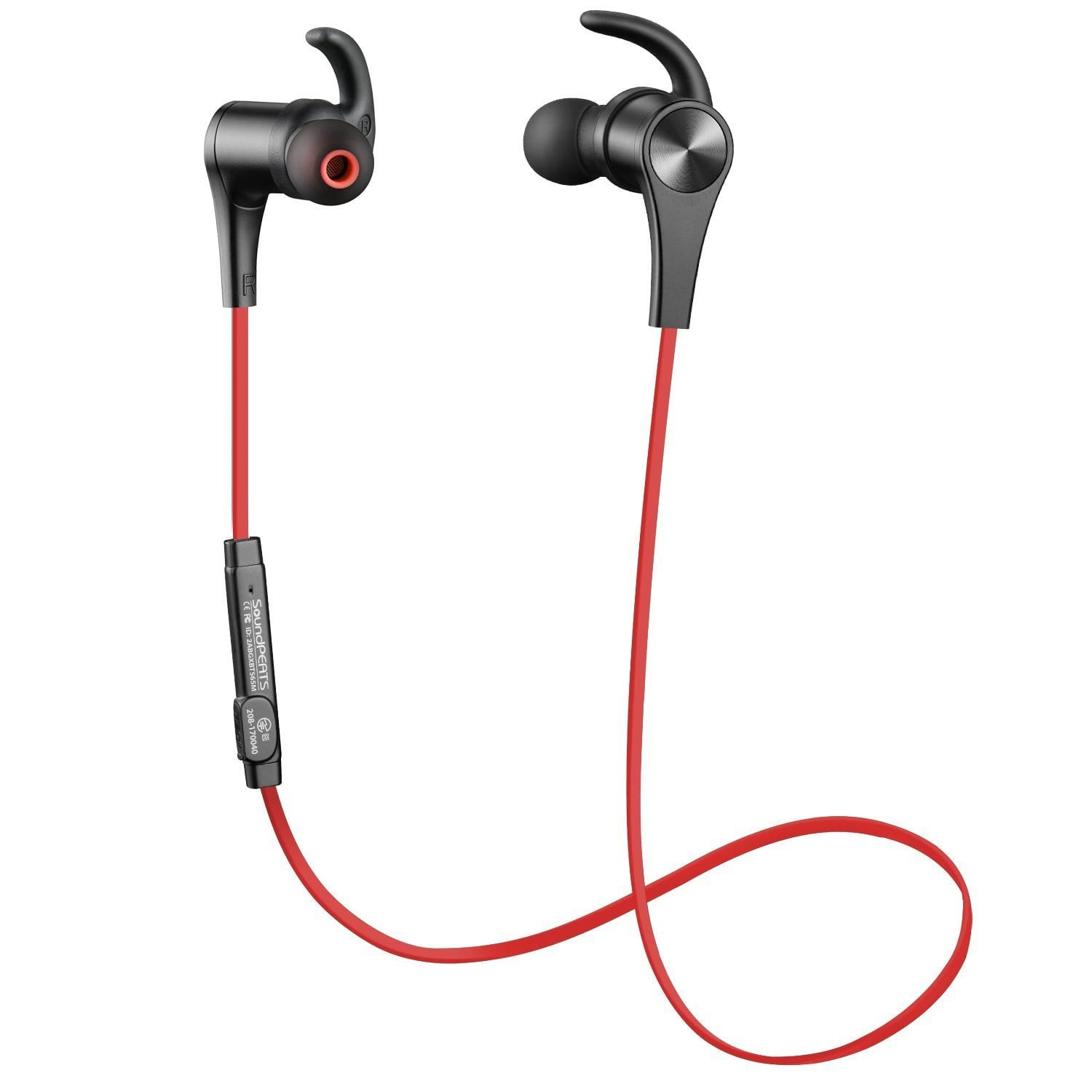 SoundPEATS Wireless Bluetooth 4 1 Noise Cancelling Earbuds w/ Mic