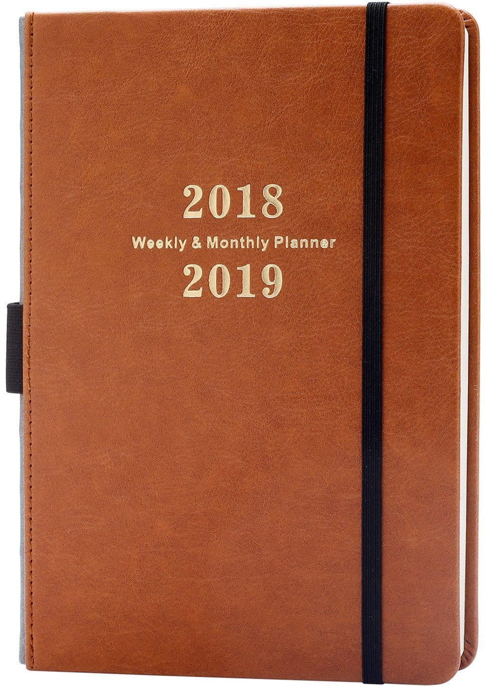 2018-2019 Weekly & Monthly Academic Planner with Calendar Stickers $7.99 + FS w/ Prime