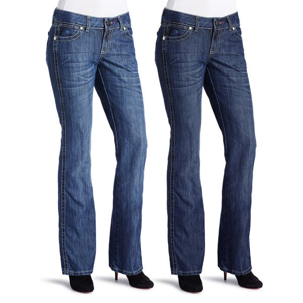 be75fc79a7c 2pk Women s Wrangler Mae Patch Jeans (various sizes Low Rise