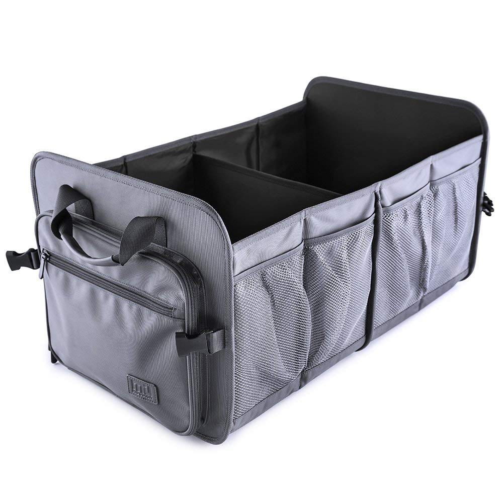 MIU COLOR Car Trunk Storage Organizer Gunmetal Gray -$15.49 + FS w/ Prime