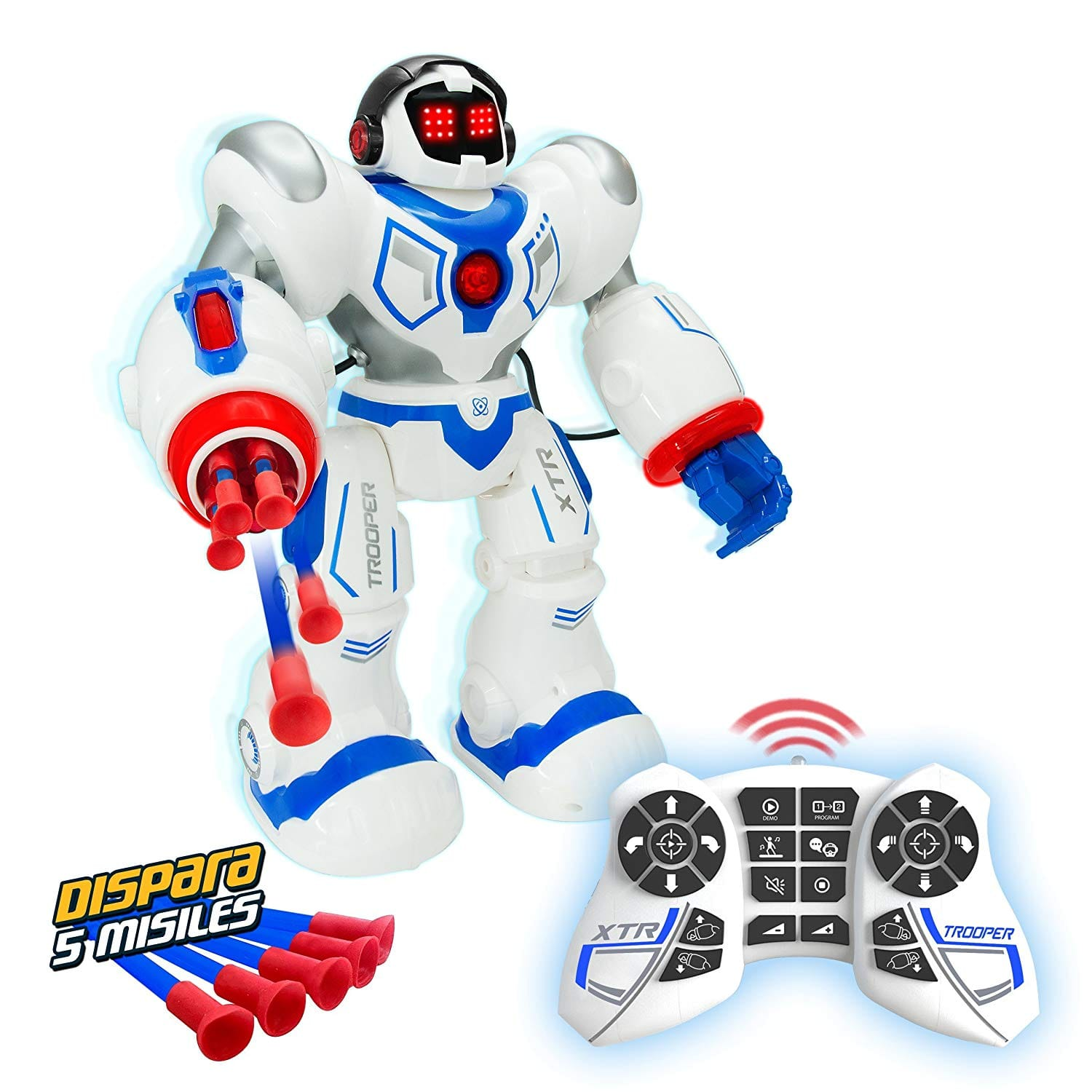 Remote Control Trooper Action Robot Toy with Shooting Missiles - $24 - Free Shipping for Prime Member