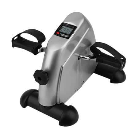 Indoor Exercise Bike Resistance Adjustable Mini Pedal Exerciser w/ LCD Display (Silver or Black) $28.99 + FS