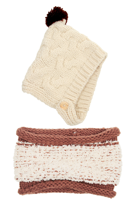 0b337c494cd AMX Store Girls Boys Baby Cap Kids Winter Warm Set Soft Knitted Hat and Scarf  Set  4.99 - Slickdeals.net