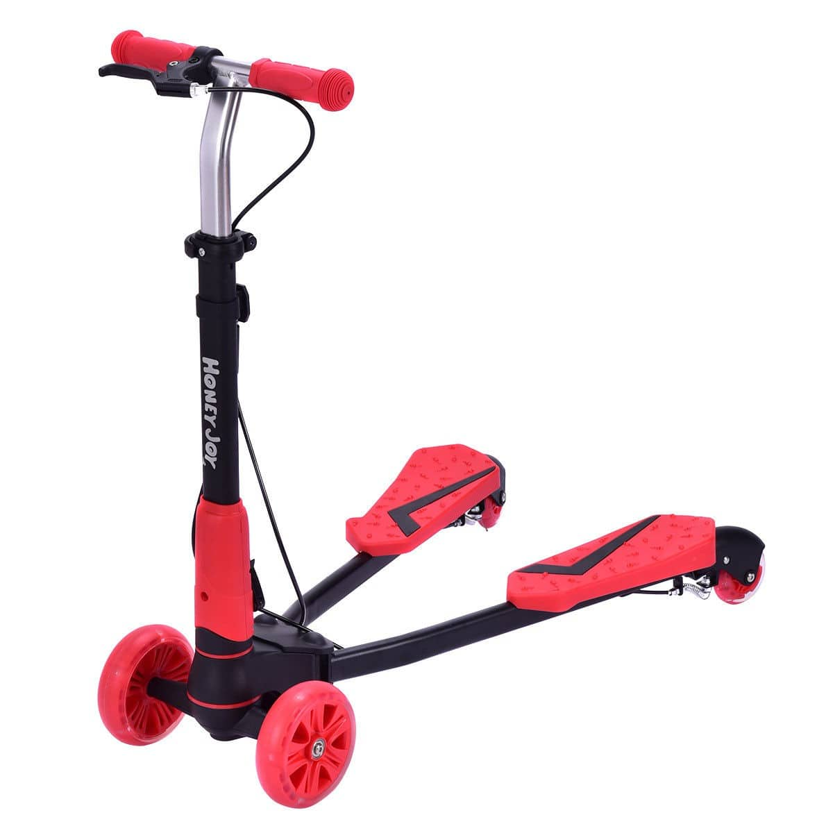 Costway Height Adjustable Foldable Kids Scooter with 4 Light up Wheels - $30.95 + Free Shipping