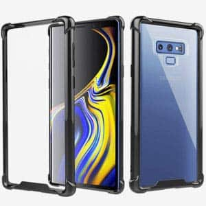Ztotop Hybrid Clear Case for Samsung Galaxy Note 8/9, iPhone x case $1.99